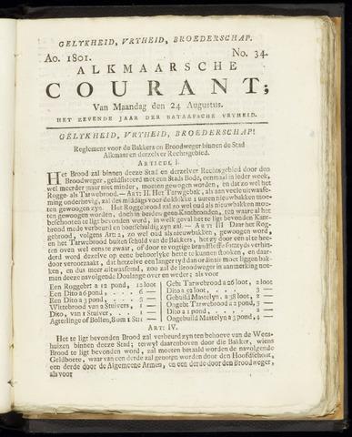 Alkmaarsche Courant 1801-08-24