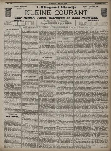 Vliegend blaadje : nieuws- en advertentiebode voor Den Helder 1909-01-06