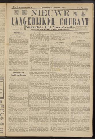 Nieuwe Langedijker Courant 1927-01-20
