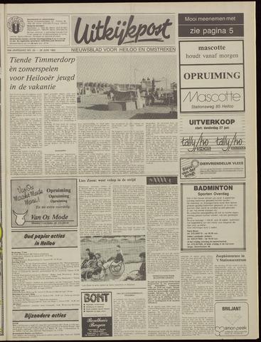 Uitkijkpost : nieuwsblad voor Heiloo e.o. 1985-06-26