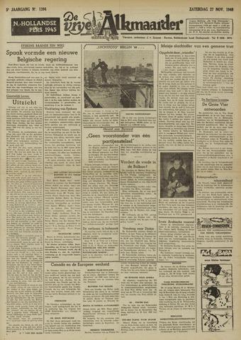 De Vrije Alkmaarder 1948-11-27