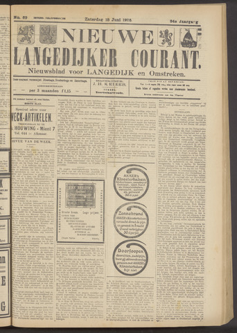 Nieuwe Langedijker Courant 1925-06-13