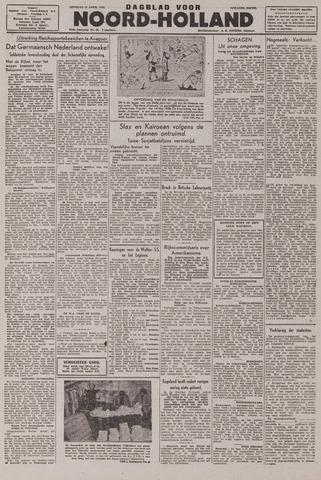 Dagblad Noord-Holland, Schager editie 1943-04-13