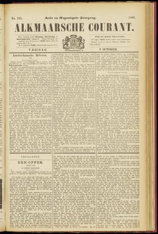 Alkmaarsche Courant 1896-10-09