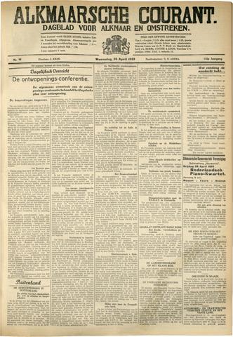 Alkmaarsche Courant 1933-04-26