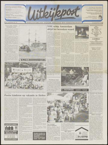 Uitkijkpost : nieuwsblad voor Heiloo e.o. 1993-08-18