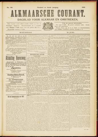 Alkmaarsche Courant 1908-06-24