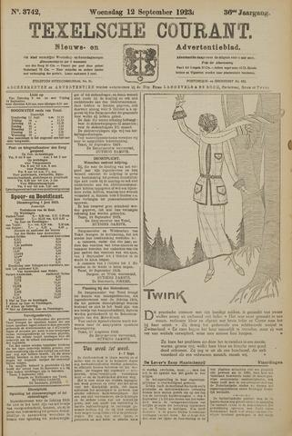 Texelsche Courant 1923-09-12