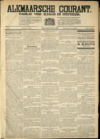 Alkmaarsche Courant 1933-01-02