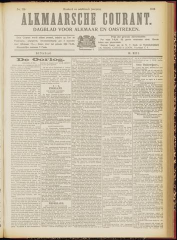 Alkmaarsche Courant 1916-05-16