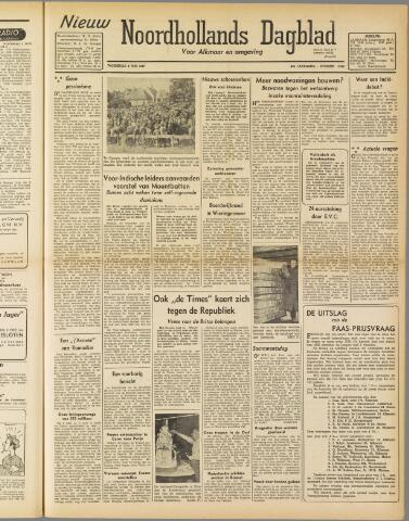 Nieuw Noordhollandsch Dagblad : voor Alkmaar en omgeving 1947-06-11