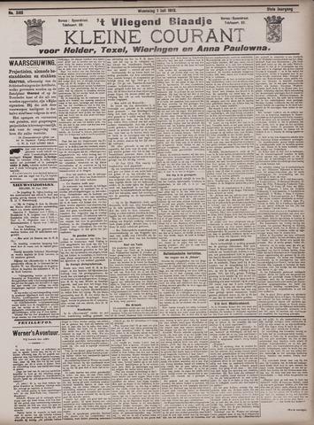 Vliegend blaadje : nieuws- en advertentiebode voor Den Helder 1903-07-01