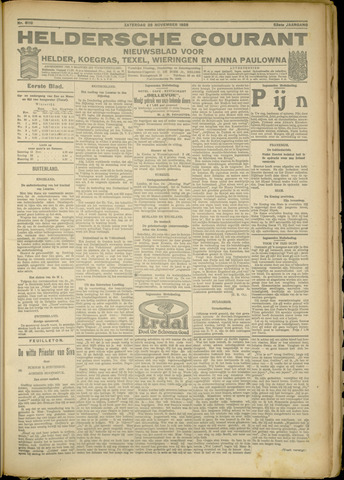Heldersche Courant 1925-11-28