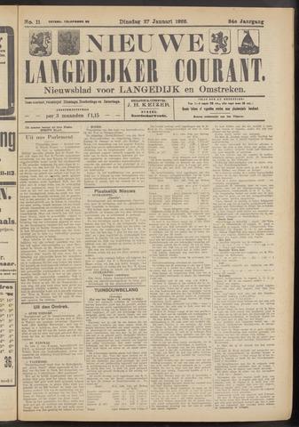 Nieuwe Langedijker Courant 1925-01-27
