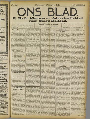Ons Blad : katholiek nieuwsblad voor N-H 1911-12-09