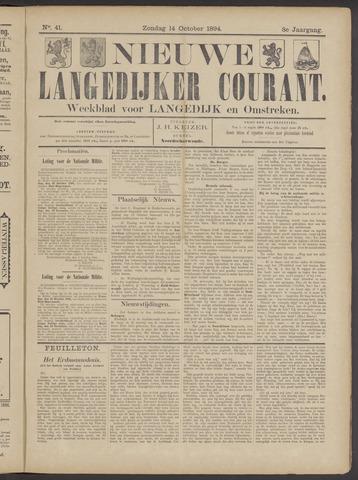 Nieuwe Langedijker Courant 1894-10-14