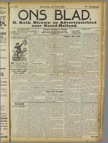 Ons Blad : katholiek nieuwsblad voor N-H 1911-06-24