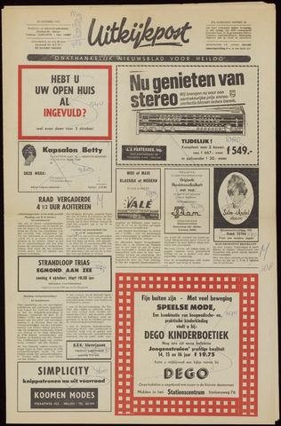 Uitkijkpost : nieuwsblad voor Heiloo e.o. 1970-09-30