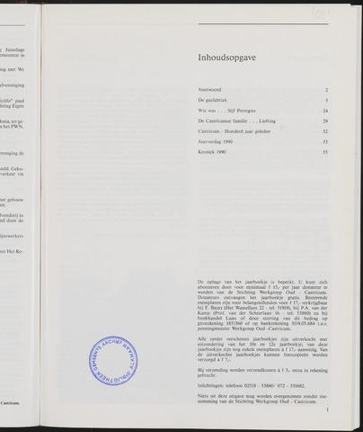 Jaarboek Oud Castricum 1991-11-01