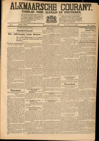 Alkmaarsche Courant 1934-01-03