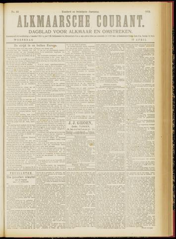 Alkmaarsche Courant 1918-04-17