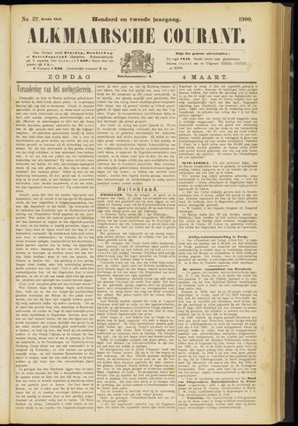 Alkmaarsche Courant 1900-03-04
