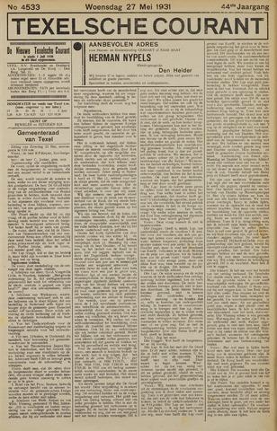 Texelsche Courant 1931-05-27