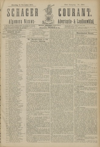 Schager Courant 1911-11-11