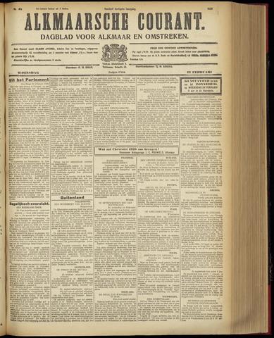 Alkmaarsche Courant 1928-02-22