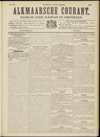 Alkmaarsche Courant 1908-07-29