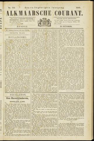 Alkmaarsche Courant 1889-10-20