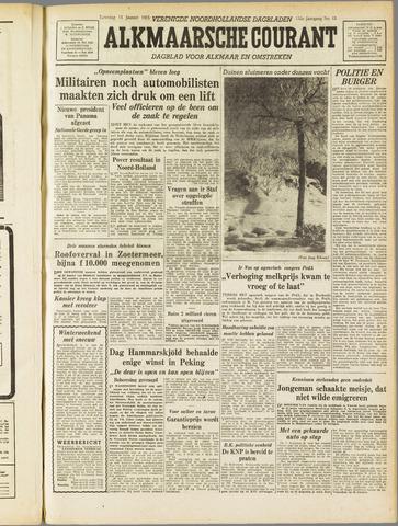 Alkmaarsche Courant 1955-01-15