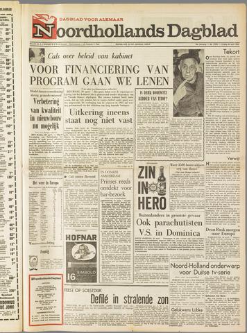 Noordhollands Dagblad : dagblad voor Alkmaar en omgeving 1965-04-30