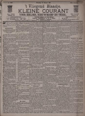 Vliegend blaadje : nieuws- en advertentiebode voor Den Helder 1897-02-24
