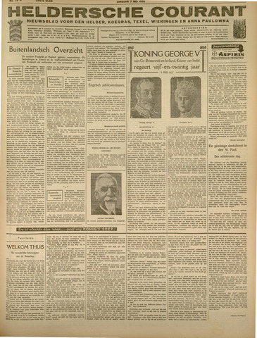 Heldersche Courant 1935-05-07