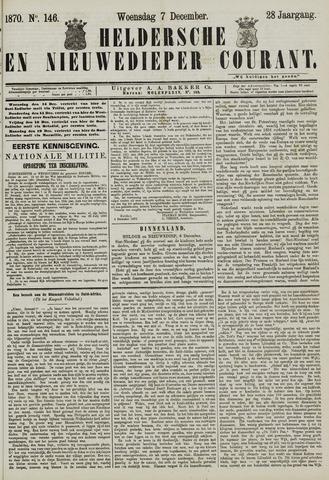 Heldersche en Nieuwedieper Courant 1870-12-07