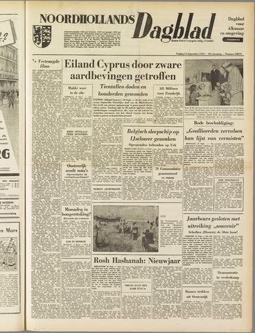Noordhollands Dagblad : dagblad voor Alkmaar en omgeving 1953-09-11