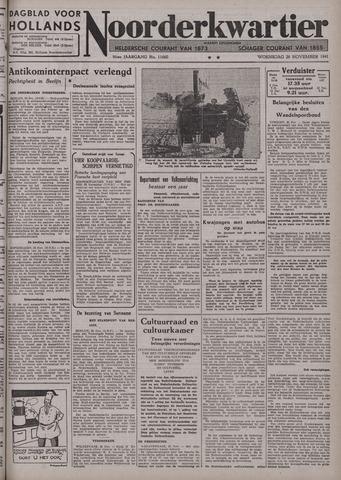 Dagblad voor Hollands Noorderkwartier 1941-11-26