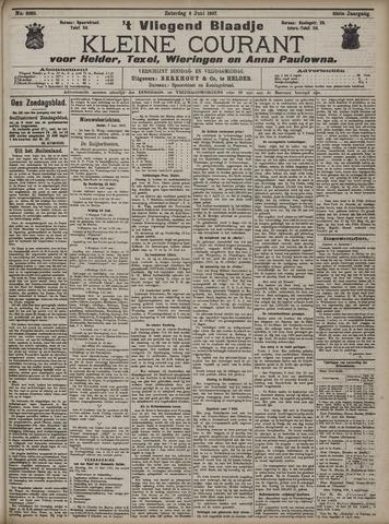 Vliegend blaadje : nieuws- en advertentiebode voor Den Helder 1907-06-08