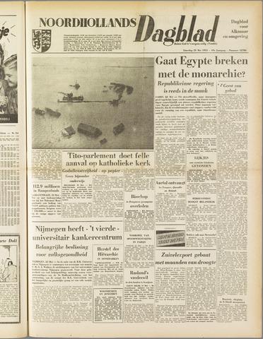 Noordhollands Dagblad : dagblad voor Alkmaar en omgeving 1953-05-23