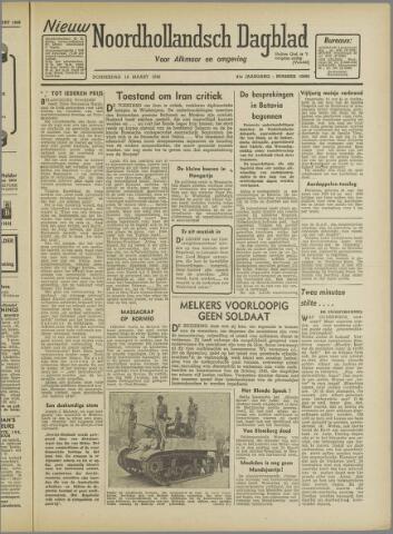 Nieuw Noordhollandsch Dagblad : voor Alkmaar en omgeving 1946-03-14