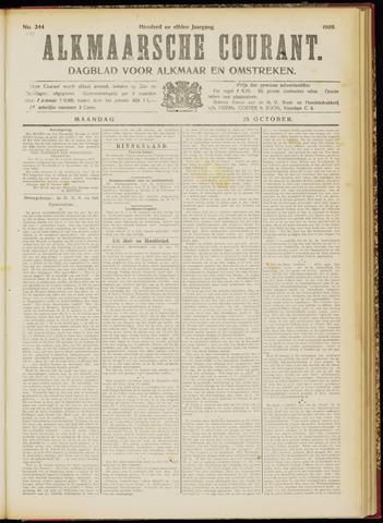 Alkmaarsche Courant 1909-10-25
