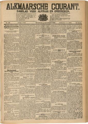 Alkmaarsche Courant 1930-08-04