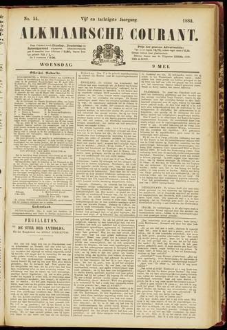 Alkmaarsche Courant 1883-05-09