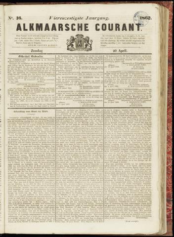 Alkmaarsche Courant 1862-04-20