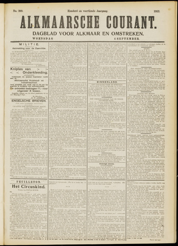 Alkmaarsche Courant 1912-09-04
