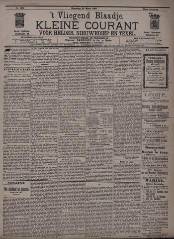 Vliegend blaadje : nieuws- en advertentiebode voor Den Helder 1896-03-25