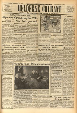 Heldersche Courant 1952-10-15