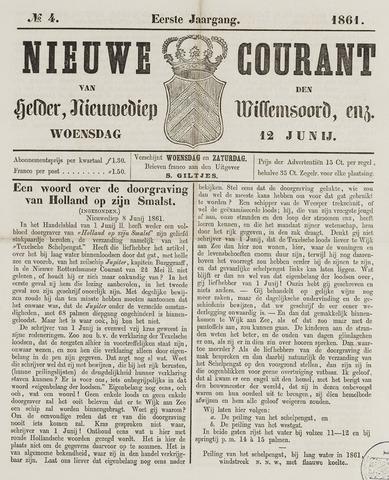 Nieuwe Courant van Den Helder 1861-06-12