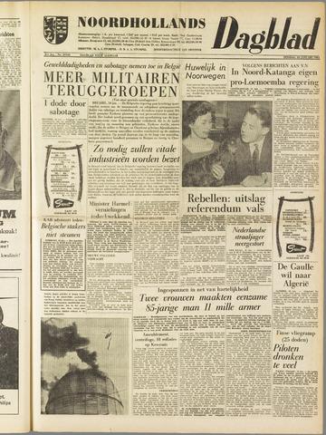 Noordhollands Dagblad : dagblad voor Alkmaar en omgeving 1961-01-10